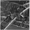 Transportation - Bridges<br /> Lewiston -Queenston Bridge, 1962 Aerial view of the first arch girder.<br /> Photo - Bethlehem Steel Corporation Coll. - 1962.