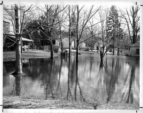 Floods<br /> Photo - By L. C. Williams - 3/24/1982.