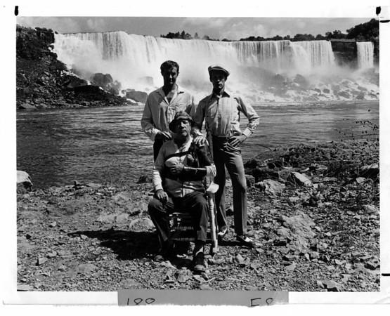 "Niagara Falls, Films - ""Great Niagara"", Randy Quaid, Richard Boone and Michael Sacks in Tuesday Movie of the Week ""The Great Nigara.."
