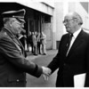 Industries - Bell <br /> General Thompson and Norton Wilcox - President Bell Aero.<br /> Photo - By Andrew J. Susty - 4/28/1981.