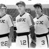 Sports - Baseball<br /> From left to right Greg Tarnow, Doug Drabek, and Paul Canning.<br /> Phot - By bob Bukaty - 7/3/1963.
