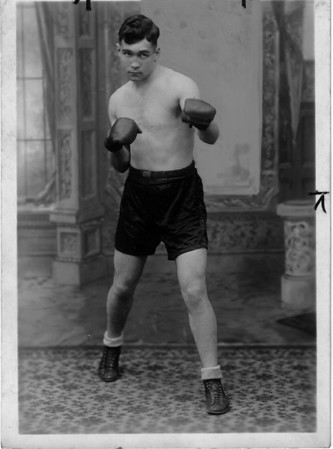 Sports - Boxing<br /> Photo - By Harry Fuller - 1927.
