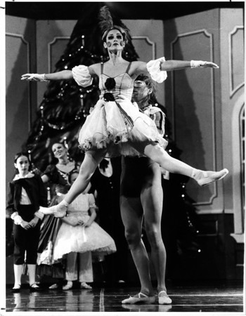 Convention Center<br /> The Nutcracker<br /> Yang Ying Chen lefts baby dolls - Roberya Taylor - 1st act.<br /> Photo - By James P. McCoy - 12/12/1985.