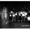Parks - City<br /> Casndelight ceremony for human rights day at Veterans PArk at the Armenian monument recalling the 1915 Genocide of Americans.<br /> Photo - By John Kudla 12/10/1985.