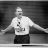 Sports - Pat Monti<br /> LaSalle high School Varsity basketball coach Pat Monti has a few words with players during practice.<br /> Photo - By David McLain - 1/3/1994.