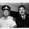 Niagara Falls, Park Police Constables John Clank, left, and Alex Tacinelli. James Neiss Photo 9/29/1989