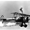 Airplanes - Airshow<br /> Earl Cherry and wife Paula Cherry from Indiana.<br /> Photo - By Niagara Gazette - 7/15/1986.