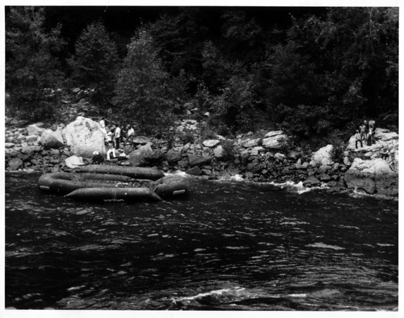 Niagara River - Raft Ride<br /> Photo - By Dan Shubsda - 8/29/1975.