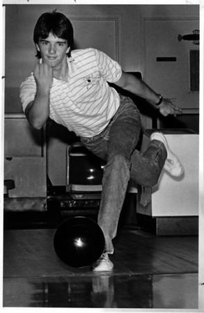 Sports - Bowling<br /> Pat Healey Jr.<br /> Photo - By Melissa Mahen - 6/27/1988.