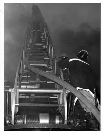 Fires - Niagara Falls<br /> Third Street, Niagara Falls<br /> Photo - By Niagara Gazette - 4/18/1966.