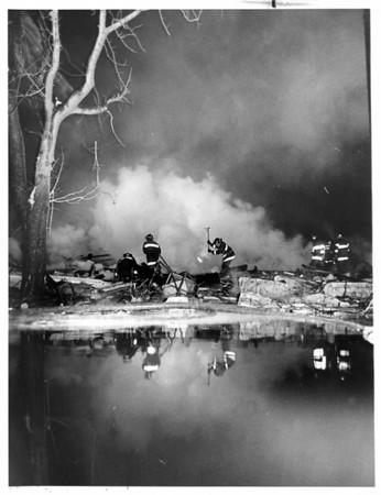 Fires - Buffalo<br /> Propane Tank<br /> Photo - By Niagara Gazette - 12/29/1983.