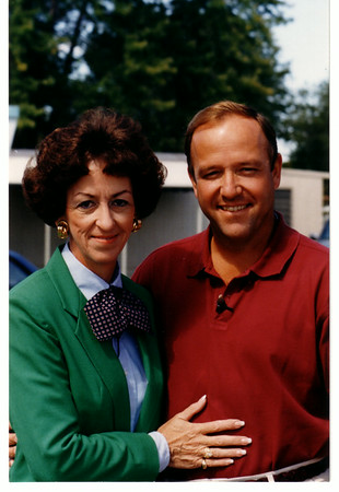 Niagara River, Rescues, Visiting Niagar Falls on 9/10/1994 for a TV special, Deanne Woodward Simpson & son Roger Woodward who survied going over Niagara Falls with only a life jacket when he was a boy.