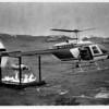 Niagara River, Stunters, - David Coperfield performs stunt at brink of horse shoe falls. 9/14/1989 - James Neiss Photo