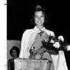 Entertainment - Peach festival<br /> Sarah Simonson of  Lewiston is the winner of the 1976 Peach Festival.<br /> Photo - By Michael J. Flynn - 9/12/1976.