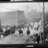 Parades - Memorial Day Parade.<br /> Washington Detective Bureau Memorial Day Parade May 30, 1917, Niagara Falss - North Main Street across from Armory.<br /> Photo - By Niagara Gazette - 5/30/1917.