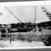 1864 Lewiston Bridge Wreckage.