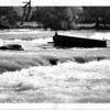 Niagara River, Upper Rapids - Bardge or pontoon dock 9/3/1965