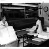 Hospitals - St. Marys Hospita;<br /> Frpm left to right: Yolande Curcione - Director of Housekeeping, and Rosetta Green - Housekeeping.<br /> Photo - By Niagara Gazette - 8/12/1981.