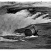 Niagara Falls, Barrel at brink of the American Falls 5/3/1990