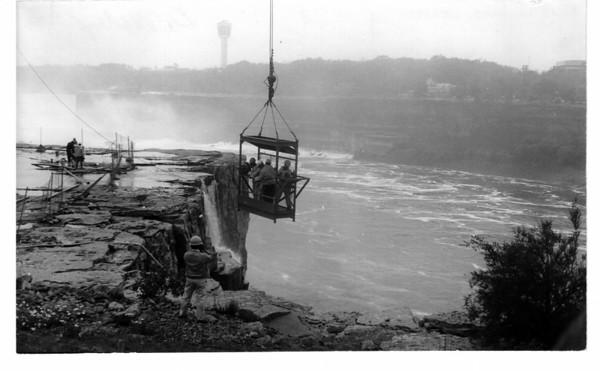 Niagara Falls, Dewatering