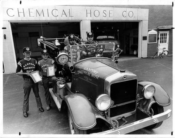 Fires - Gasport<br /> Gasport Chemical Hose Company<br /> Photo - By Niagara Gazette.