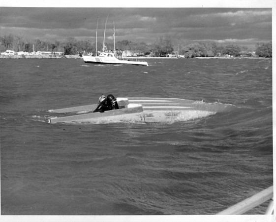 Niagara River - Rescues<br /> Photo - By Jerry Lasher - 11/3/1973.