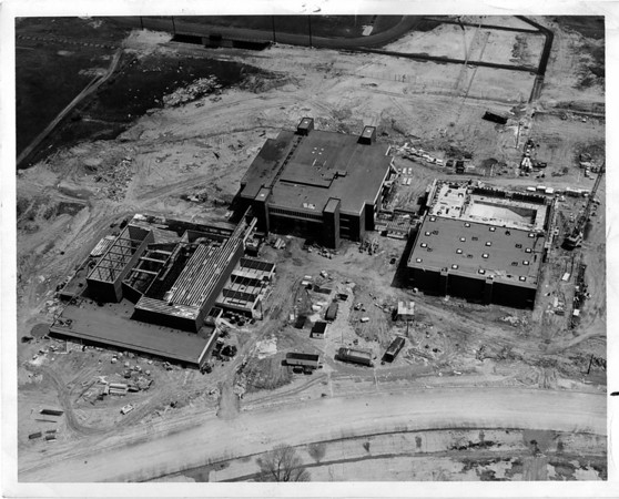 Schools, Lewiston Porter, Lewport, High Scool Construction Ariel 5-19-1970