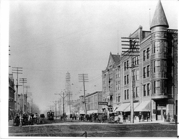 Urban Renewal<br /> Falls Street<br /> Photo - By Niagara Gazette.