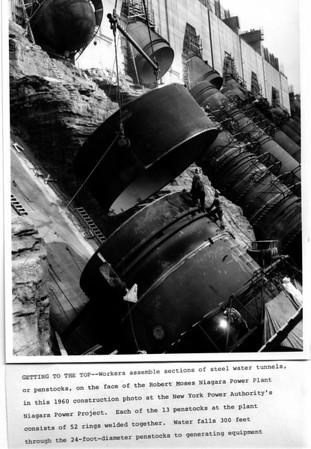 Power Authority Construction 1960