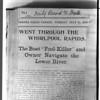 Niagara River, Stunters, F. M. Bowser blerb..  Peter Nissen ?