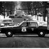 Police - On 11th Street between Linwood Ave and willow Ave the top of a steel traffic light pole broke off causing the traffic signals to block 11th street.<br /> Photo - By Ron Schifferle 12/20/1985.