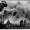 Fires - Grand Island<br /> House fire at 2771 Staley Road, Grand Island.<br /> Grand Island Volunteer Fire Company and Sheridan Park were called to scene.<br /> Photo - By james Neiss - 11/6/1991.