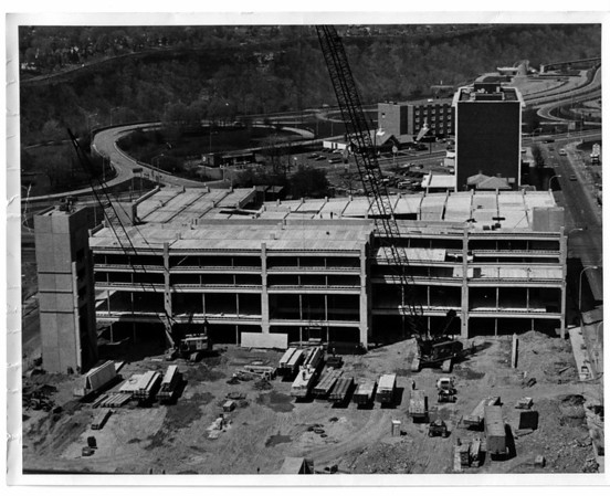 Parking - Parking Ramp<br /> Parking Ramp on 3rd street at LaSalle arterial.<br /> Photo - Bt Andrew J. Susty - 5/4/1981.