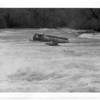 Niagara River, Upper Rapids - Bardge or pontoon dock 10/30/1965