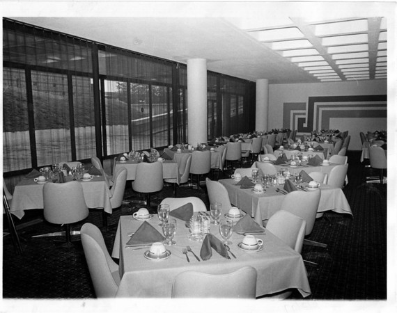 Buildings - Niagara Falls<br /> Convention Center Plaza Restaurant<br /> Photo - By Niagara Gazette - 10/22/1977.