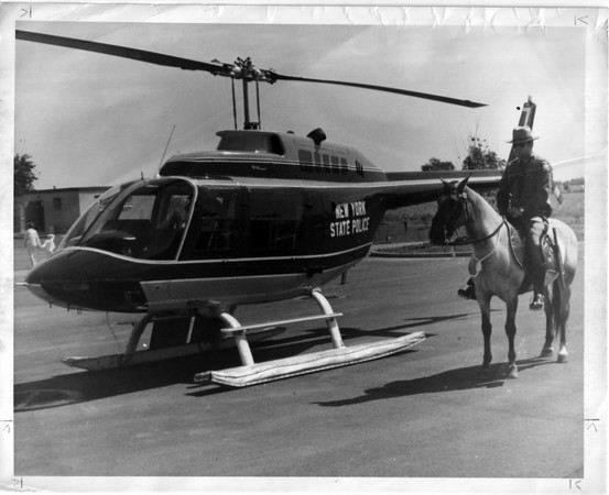 Police, NY State June 19, 1977 - Horse & Helicopter.