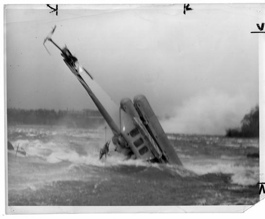 Niagara River, Rescue, Helicopter Crash - May 17, 1950