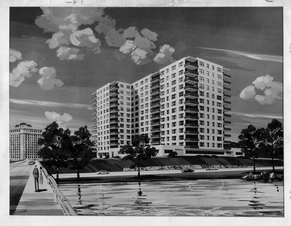 Buildings - Niagara Falls<br /> Parkway Apartments<br /> Photo - By Niagara Gazette.