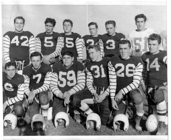 Sports - Football<br /> Photo - By Niagara Gazette - 11/5/1954.