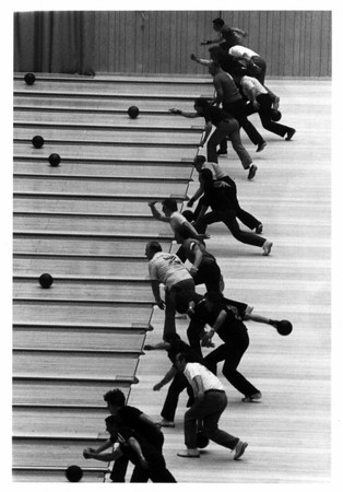 Convention Center - Bookings<br /> First Balls Down Alley<br /> Photo - By Joe Eberle