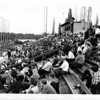 Parks - Hyde park Stadium<br /> Fans Look on at Hyde Park Stadium.<br /> Photo - By L. C. Williams - 9/1/1967