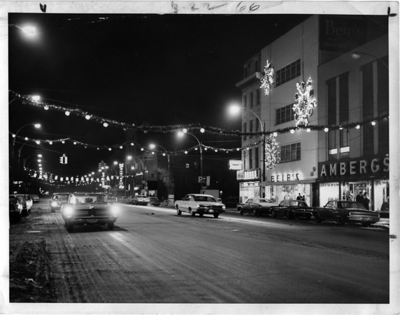 Streets - Falls Street<br /> Photo - By Niagara Gazette - 12/30/1967.