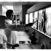 Hospital - Degraff<br /> Radiology Department - Lynn Castiglione and Dr. Charles Yang.<br /> Photo - By John Kudla - 3/12/1979.