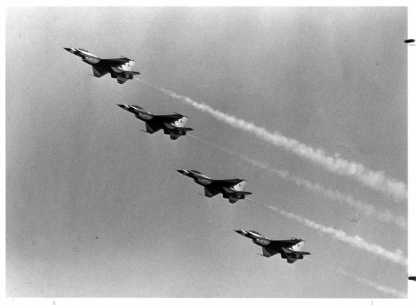 Aiplanes - Airshow<br /> Photo - By Joe Eberle - 7/15/1984.