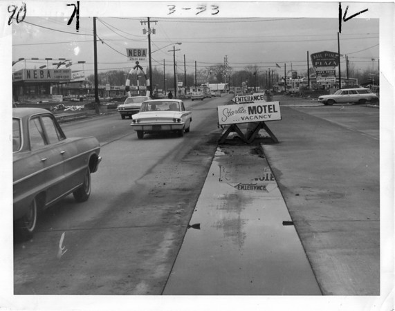 Streets - Niagara Falls<br /> Pine Avenue<br /> Photo - By Niagara Gazette.