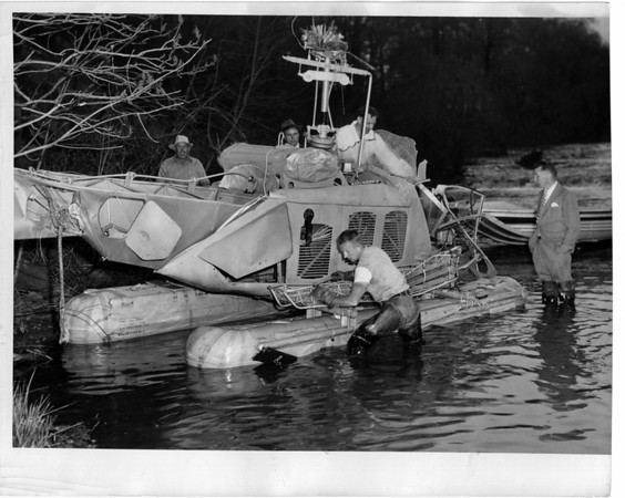 Niagara River, Rescue 5/17/1950
