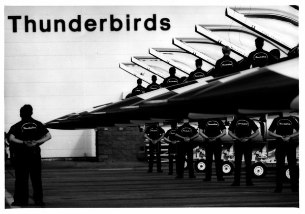 Airplanes - Thunderbirds<br /> Photo - By Niagara Gazette