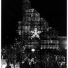 "Christmas - Festival of Lights<br /> 1984 Festival of Lights - ""Winter Garden""<br /> Photo - By Tim Johnson - 11/24/1984."