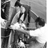 Niagar River - Rescues<br /> Richard J. Weslowski<br /> Photo - By Jim P. McCoy - 10/8/1985.
