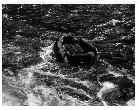 Niagara River, Rescue, Raft Ride - Sept 3, 1975
